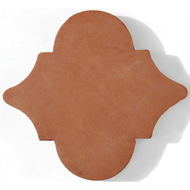 Solistone 6.5-in x 6.5-in Terra Cotta Natural Wall and Floor Tile