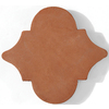 Solistone 6-1/2-in x 6-1/2-in Terra Cotta Floor Tile