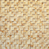 Solistone 5-Pack 12-in x 12-in Cubist Beige Natural Stone Wall Tile