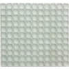 Solistone 10-Pack 12-in x 12-in Pillow Frosted White Glass Wall Tile