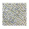 Solistone Atlantis Glass 10-Pack Capri Frosted Uniform Squares Mosaic Glass Wall Tile (Common: 12-in x 12-in; Actual: 11.75-in x 11.75-in)