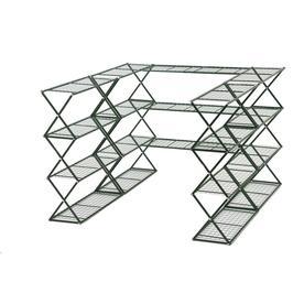 Flowerhouse 15-ft L x 2.5-ft W x 4-ft H Metal Greenhouse