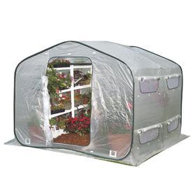 Flowerhouse 36-in L x 7.5-in W x 36-in H Greenhouse