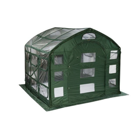 Flowerhouse 9-ft L x 9-ft W x 8-ft H Poly Sheeting Greenhouse