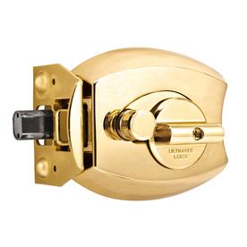 Ultimate Lock Satin Nickel Amp Polished Brass Deadbolt Door
