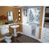 American Standard Walk-In Baths 50-in L x 30-in W x 37-in H White Acrylic Rectangular Walk-In Bathtub with Right-Hand Drain