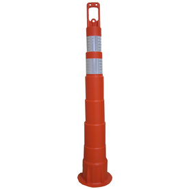 Work Area Protection Orange Hip Top Channelizer Cone