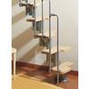 Arke Karina x 9.25-ft Gray Modular Staircase Kit