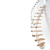 Arke 21-1/4-in Karina White Modular Staircase Kit