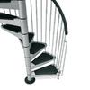 Arke Civik 63-in x 10-ft Gray Spiral Staircase Kit