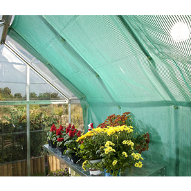 Palram 7.875-ft L x 7.875-ft W x 0.0166-ft H Greenhouse Shade Kit