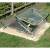 Palram 3.6-ft L x 3.25-ft W x 1.96-ft H Metal Plexiglass Greenhouse