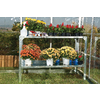 Palram 3.75-ft L x 1.645-ft W x 2.625-ft H Metal Greenhouse