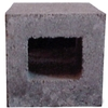 Half Cored Concrete Block (Common: 8-in x 8-in x 8-in; Actual: 7.625-in x 7.625-in x 7.625-in)