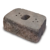 allen + roth Luxora 16-in L x 6-in H Federal Hill Blend Country Manor Retaining Wall Block (Actuals 16-in L x 6-in H)