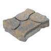 Tan/Charcoal Rectangle Concrete Patio Stone (Common: 11-in x 13-in; Actual: 11-in x 13-in)