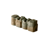 Tan/Charcoal Alameda Edging Stone (Common: 4-in x 12-in; Actual: 3.625-in H x 12-in L)