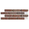 Brickweb 8.7 sq ft Box Smooth Boston Mill Brick Veneer