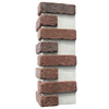 Brickweb 3-Pack 7.625-in x 21-in Boston Mill Corner Sheet Brick Veneer Trim
