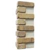 Brickweb 3-Pack 7.625-in x 21-in Alamo Sunrise Corner Sheet Brick Veneer Trim