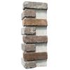 Brickweb 3-Pack 7.625-in x 21-in Rushmore Corner Sheet Brick Veneer Trim