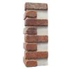 Brickweb 3-Pack 7.625-in x 21-in Dixie Clay Corner Sheet Brick Veneer Trim