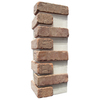 Brickweb 3-Pack 7.625-in x 21-in Castle Gate Corner Sheet Brick Veneer Trim