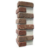 Brickweb 3-Pack 7.625-in x 21-in Columbia Street Corner Sheet Brick Veneer Trim