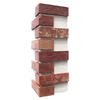 Brickweb 3-Pack 7.625-in x 21-in Independence Corner Sheet Brick Veneer Trim