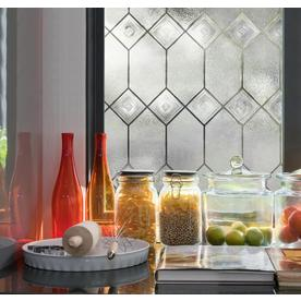 artscape 24in w x 36in l textured old english - Decorative Window Film