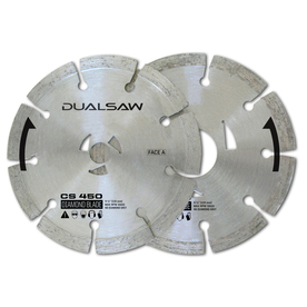 DualSaw 4-1/2-in 8-Tooth Segmented Circular Saw Blade