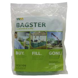 Waste Management Bagster Dumpster in a Bag 3CUYD