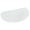 Shape Products 40-1/4-in x 20-3/4-in x 2-in Plastic Circular Fire Egress Window Well Covers