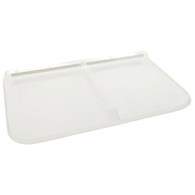Shape Products 44-1/2-in x 25-1/2-in x 2-in Plastic Rectangular Fire Egress Window Well Covers WW4526RM