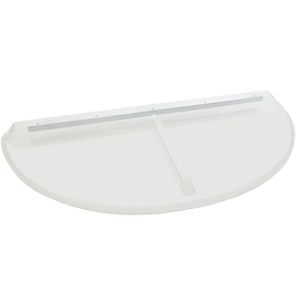 Shape Products 47-1/2-in x 20-3/4-in x 2-in Plastic Circular Fire Egress Window Well Covers