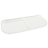 Shape Products 47-1/4-in x 20-in x 2-in Plastic Elongated Fire Egress Window Well Covers