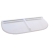 Shape Products 53-3/4-in x 26-1/2-in x 2-in Plastic U-Shaped Fire Egress Window Well Covers