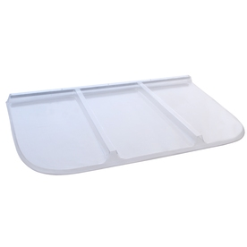 Shape Products 61-3/4-in x 36-in x 2-in Plastic Rectangular Fire Egress Window Well Covers WW6238RM