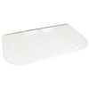 Shape Products 69-1/2-in x 38-1/4-in x 2-in Plastic U-Shaped Fire Egress Window Well Covers