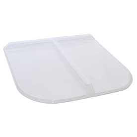 Shape Products 39-3/4-in x 37-3/4-in x 2-in Plastic U-Shaped Fire Egress Window Well Covers