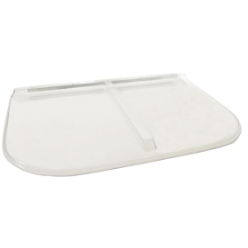 Shape Products 57-1/2-in x 37-1/2-in x 2-in Plastic U-Shaped Fire Egress Window Well Covers WW5838UM