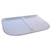 Shape Products 57-1/2-in x 37-1/2-in x 2-in Plastic Rectangular Fire Egress Window Well Covers