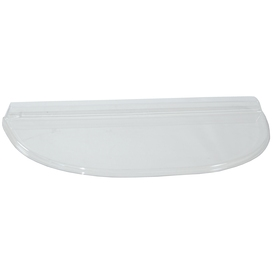 Shape Products 42-1/2-in x 21-1/2-in x 2-in Plastic U-Shaped Fire Egress Window Well Covers WW4021UMB