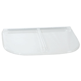 Shape Products 41-1/2-in x 25-1/2-in x 2-in Plastic U-Shaped Fire Egress Window Well Covers WW4225UMB