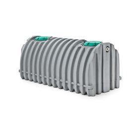 1500-Gallon Gray Polyresin Stock Tank