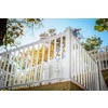 Wolf Handrail 96-in W x 32.5-in H White Aluminum Porch Railing Kit