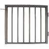 Wolf Handrail 36-in x 42-in Bronze Aluminum Commercial Gate