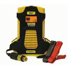 Stanley 6-Amp Automatic Battery Charger with 8-Amp