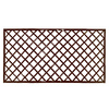 Bamboo Buddy 4'x8' Collapsible Mahogany Bamboo Lattice