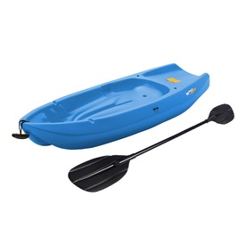 LIFETIME PRODUCTS Wave 72-in x 24-in Blue 1-Person Plastic Recreational Kayak